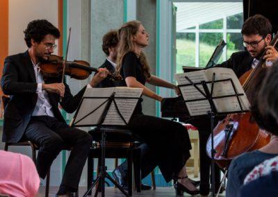 25 juillet 2019 : Trio n°5 de Beethoven, Festival Les Fieffés Musiciens. Photo : Michel Pasquette