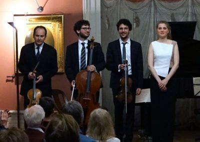 10 janvier 2020 : Concert avec Miguel da Silva au Palais de l'Athénée, Genève. Photo : Chloé Despland