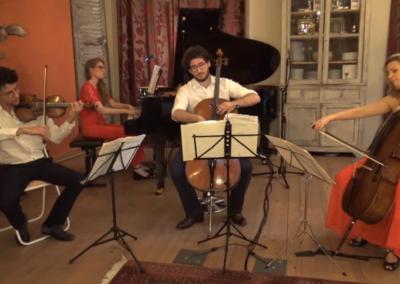 1er juillet 2020 : Ernest part en Live avec la violoncelliste Ophélie Gaillard.